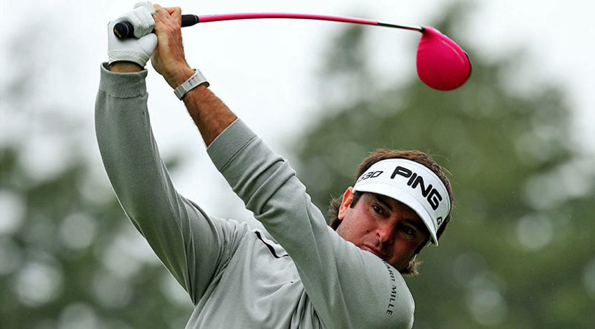 Bubba Watson's longest drive of the tournament came in the second round at 363 yards. (Jim Rogash/Getty Images)