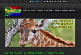 EgoliGolf - Golf in the Wild at Hans Merensky Eight Day Holiday Package
