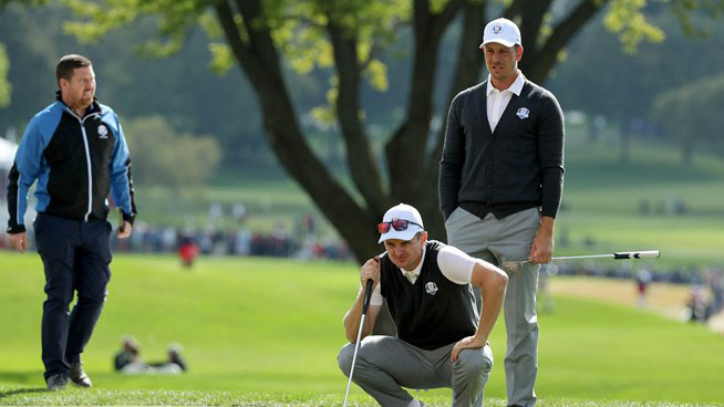 Henrik Stenson and Justin Rose (Getty Images)