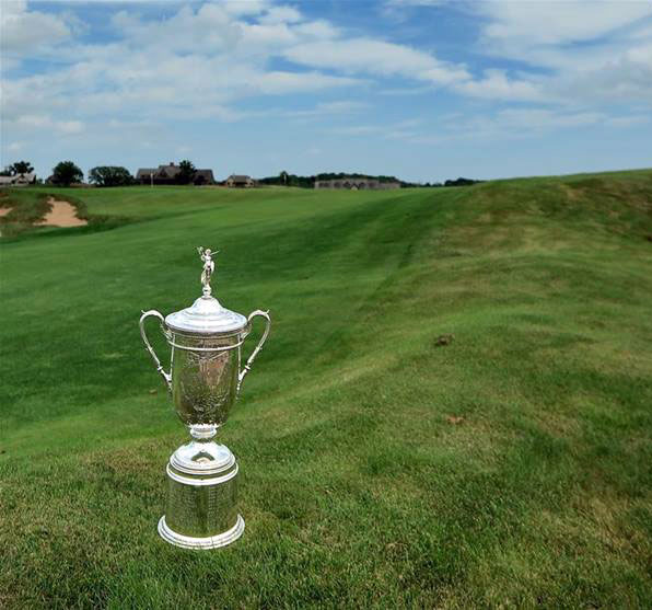 US Open Trophy (European Tour)